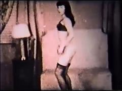 BETTIE BOP vintage nylons dance stockings tease