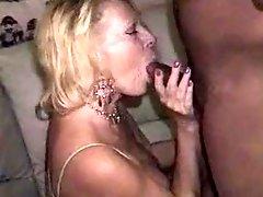Sexy Mature Blonde gettin BBC