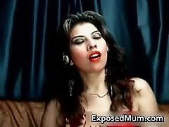 Arab Housewife Works Her Vagina With A Red Sex Toy 1 By