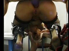 French MILF Gets Anal Punishment