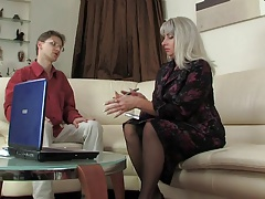 Mature Woman And Young Guy