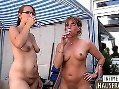 Hausfrauen Auf Der Terrasse Teil 1
