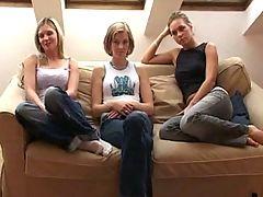 Teen Girls Payed To Lez It Up B1