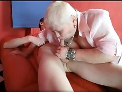 Big boobed obese fat busty blonde milf whore doctor luc