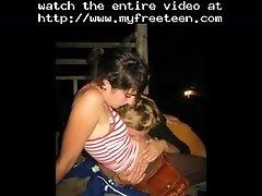 Amateur Teen Lesbians Learning Woman Love Slideshow T
