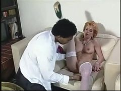 Her Sweet White Cunt Is Filled With Black Cock