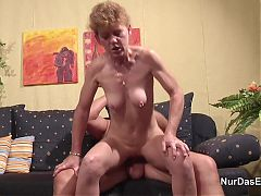 71yr Old Hairy Granny Fucks With German Step Dad In Casting