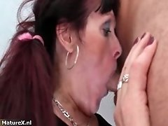 Horny Mature Whore Goes Crazy Getting Her Wet Pussy Lic