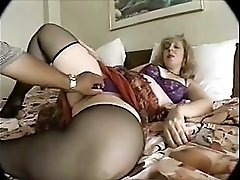 Blonde Mature in Threesome 76 SMYT
