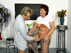 Sex Expert Shows Off His Knowledge With Milf On His Show