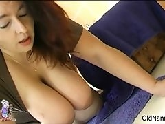 Busty Brunette Woman Goes Crazy Riding An Hard Cock By