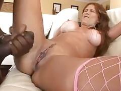 Hot Milf With Big Ass Tits Vs Big Black Cock