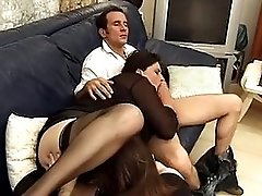 French mature threesome