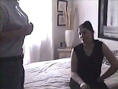 Filming his wife with a stranger in a hotel room