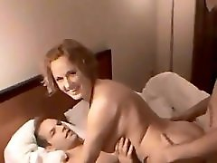 Euro milf DP filmed by other wife