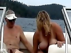 Wife on the boat