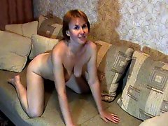 Russian Mature Shows Her Best P 1
