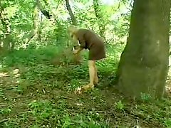 Granny Fucked In Forest