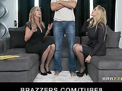 Bigtit Blonde Milf Sluts Julia Ann Brandi Love In Threesome
