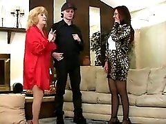 Sexy Grandmother Fucks Her Grandsons Friend