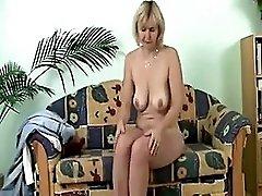 My lovely grannies crazy masturbation