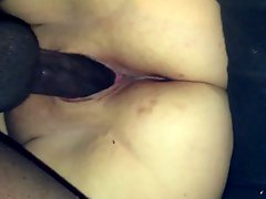 My wife fucking a strangers black cock and creaming on it