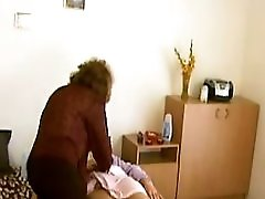 Shaved Granny Massages