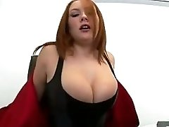 Beautiful Busty Redhead