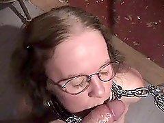 Chatty Submissive Nerd Cocksucker