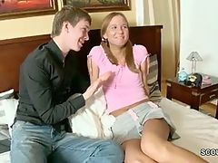 Hottest Stepsister Get First Fuck By Stepbro To Get Pregnant