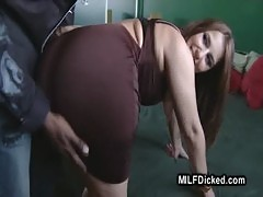 Busty Milf Stretching Pussy With Fat Black Dick00