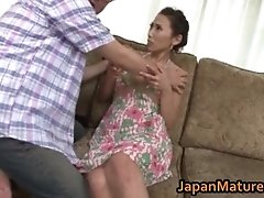 Asuka yuki hot mature asian model spreads her legs 1 b