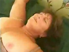 Chubby Mature Couch Fucked