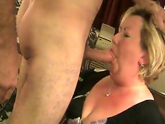 Plump mature cock lover