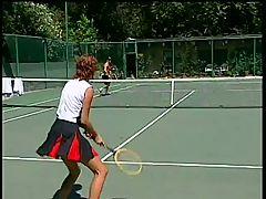 John West & Candy Apples Tennis Ass Fuck Cochinadas