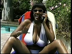 Old School Sierra Fucks Poolside