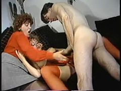 Stepmom With Not Her Son And Daughter In Threesome