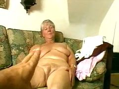 Granny Strips and Dildos