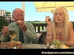Grandpa Fucks Young Sweetheart