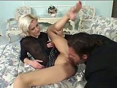 Couple's Ending The Night By Fucking On The Couch