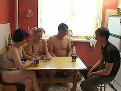 Russian Old Young And Mature Orgy