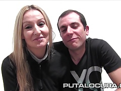 PUTA LOCURA First Time Amateur Couple