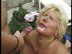 HUNGARIAN BBW GRANNY LOTTA FUCKED BY 2 MEN