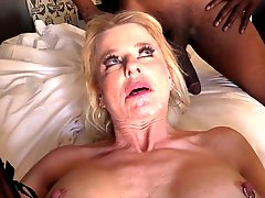 MILF gets BBC creampies