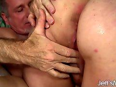 BBW Rubee tries anal sex