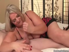 Seemom Busty MILF Loves Young Cocks