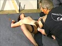 French MILF Pussy Whipping