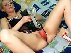 Dirty blonde MILF fisted and fucked in all holes 3 scenes