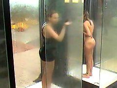 Milfs Caught In Public Shower BVR