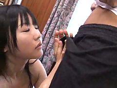 Japanese Girl Sucks Cock And Fucks